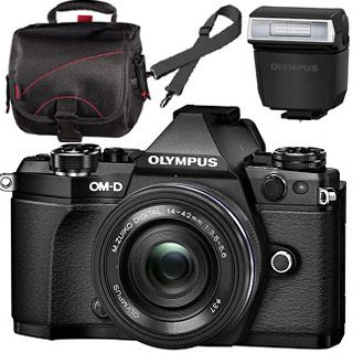 Olympus OM-D E-M5 Mark II black + ED 14-42mm black