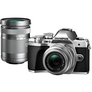 Olympus E-M10 Mark III Double Zoom kit silver
