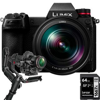 Panasonic Lumix DC-S1 + Lumix S 24-105mm/F4,0