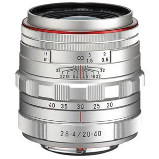 Pentax 20-40 mm f/2,8-4 HD DA ED DC WR Ltd. silver