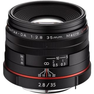 Pentax 35mm f/2.8 HD DA Macro Limited