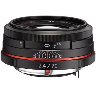 Pentax 70 mm f/2,4 DA Ltd.