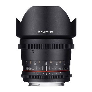 Samyang 10mm T/3.1 VDSLR ED AS NCS CS II pre MFT (Panasonic/Olympus)