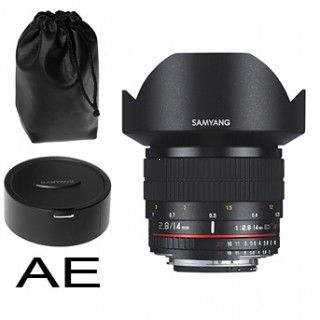 Samyang 14mm f/2.8 IF ED UMC ASPH pre Canon AE