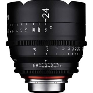 Samyang XEEN 24mm T1.5 Cinema Lens - MFT