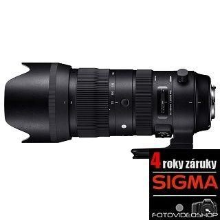 Sigma 70-200mm f / 2,8 DG OS HSM Sport Canon + 4 roky záruka!