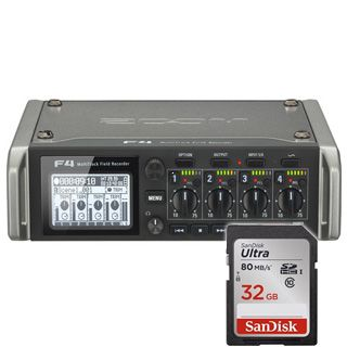 Zoom F4 MultiTrack Field Recorder + 32GB SanDisk Zadarmo !
