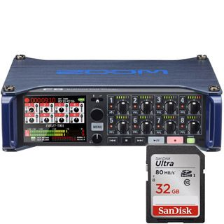 ZOOM F8 Multitrack Field Recorder + 32GB SanDisk Zadarmo !