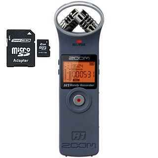 ZOOM H1-MB audio rekordér + 2GB SD karta