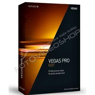 Sony VEGAS Pro 15 EDIT krabicové balenie BOX  2741dd45e5f
